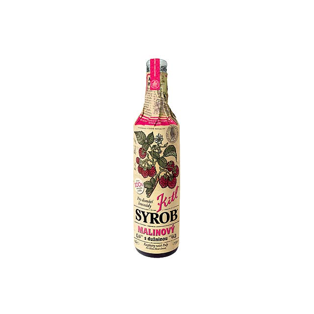 RASPBERRY DRINK malinový sirup , 500 ml, Vícebarevná - multicolor
