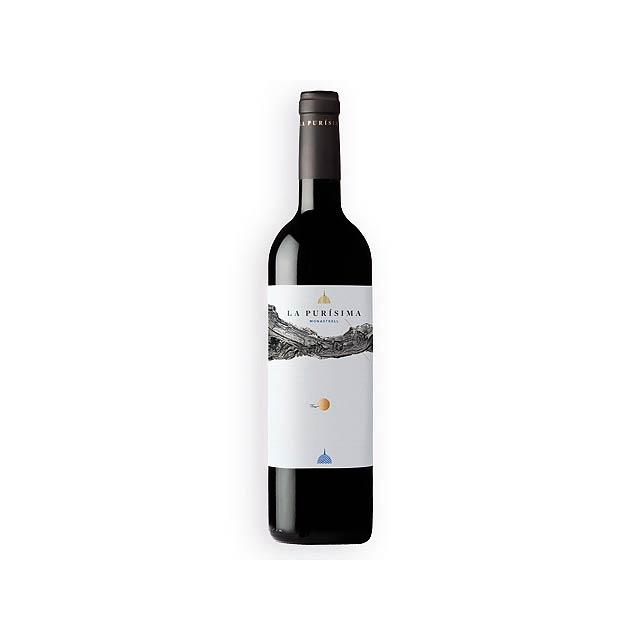 LA PURISIMA španělské červené víno odrůdy Monastrell, 750 ml, Vícebarevná - multicolor