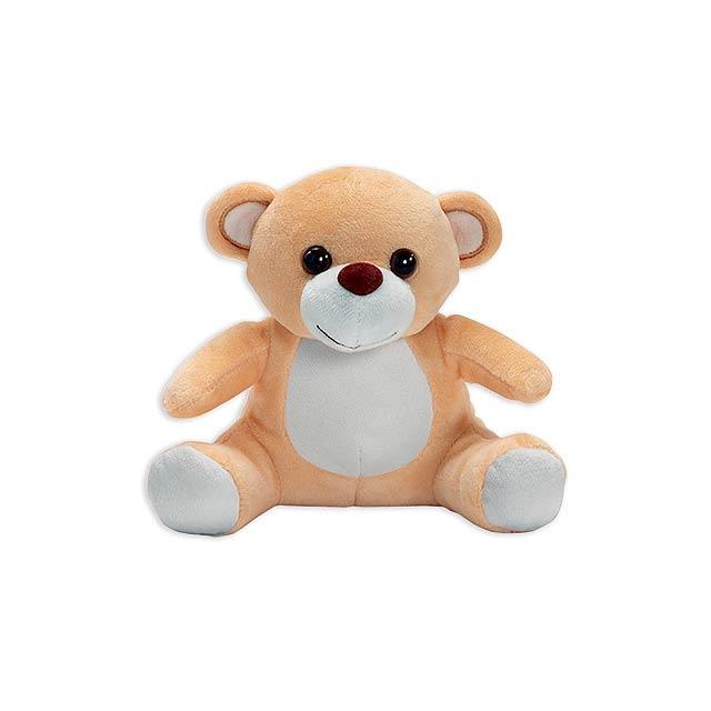 BAKI plyšový medvěd, Světle hnědá - hnědá
