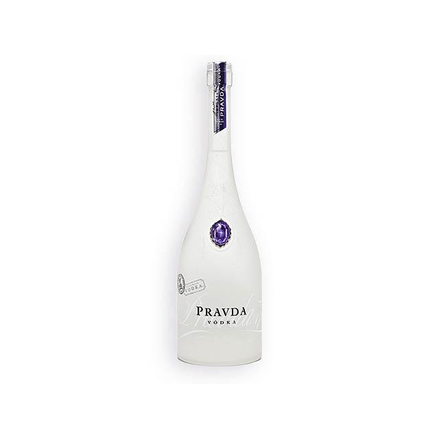 VODKA PRAVDA super prémiová vodka, obs. alk. 40%, 700ml, Vícebarevná - multicolor