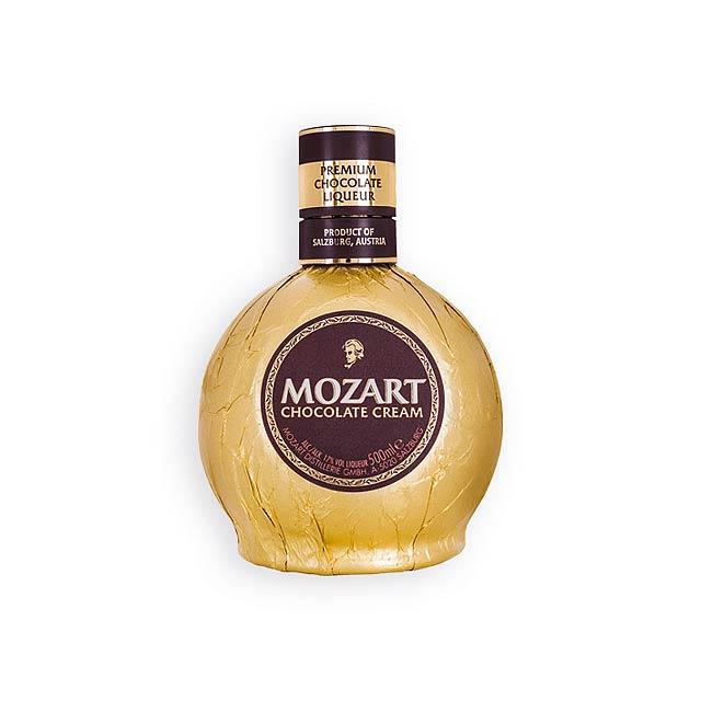 MOZART MOZART čokoládový likér,  obsah alk. 17%, 500ml, Vícebarevná - multicolor