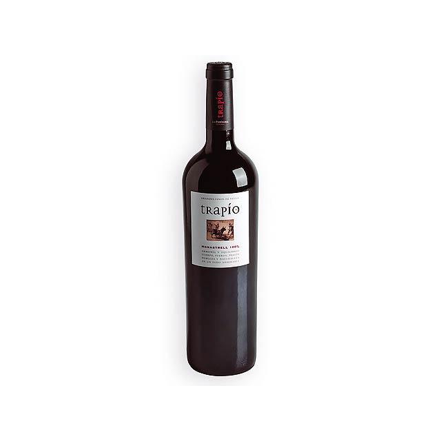 TRAPIO španělské červené víno odrůdy Monastrell, 750 ml, Vícebarevná - multicolor