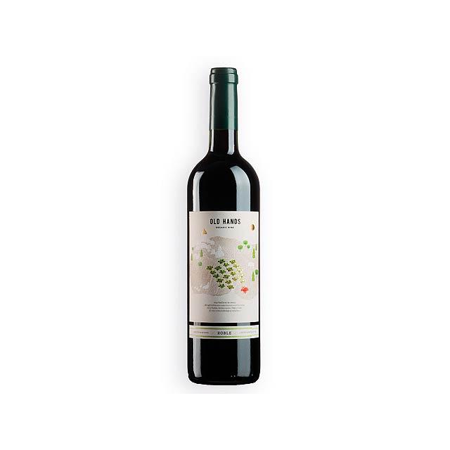 OLD HANDS ROBLE BIO španělské červené BIO víno odrůdy Monastrell, 750 ml, Vícebarevná - multicolor