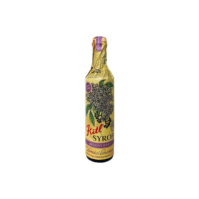 ELDERFLOWER DRINK bezový sirup , 500 ml, Vícebarevná - multicolor
