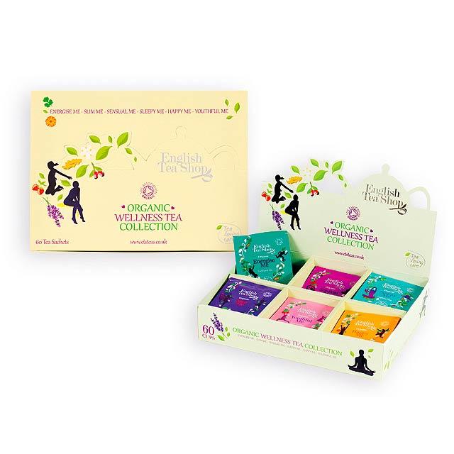 LOVING CARE kolekce bio čajů, 60 sáčků, 6 příchutí, Vícebarevná - multicolor
