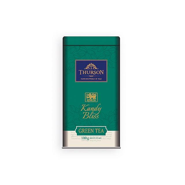 KANDY BLISS sypaný zelený čaj, 100 g, Vícebarevná - multicolor