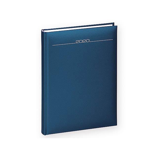 NAKADO diář denní A5, Královská modrá - modrá