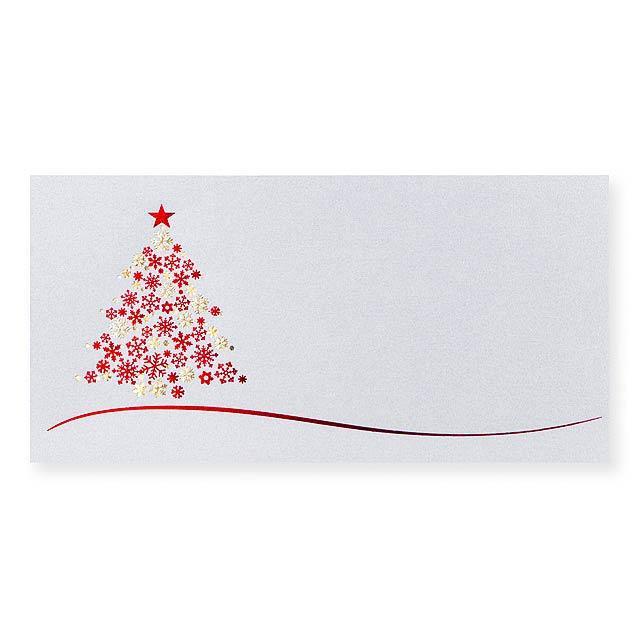 PF CARD PF karta, 200x100 mm - červená