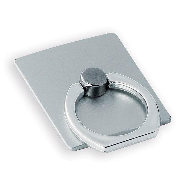 GLARU držák na telefon, Saténově stříbrná - stříbrná
