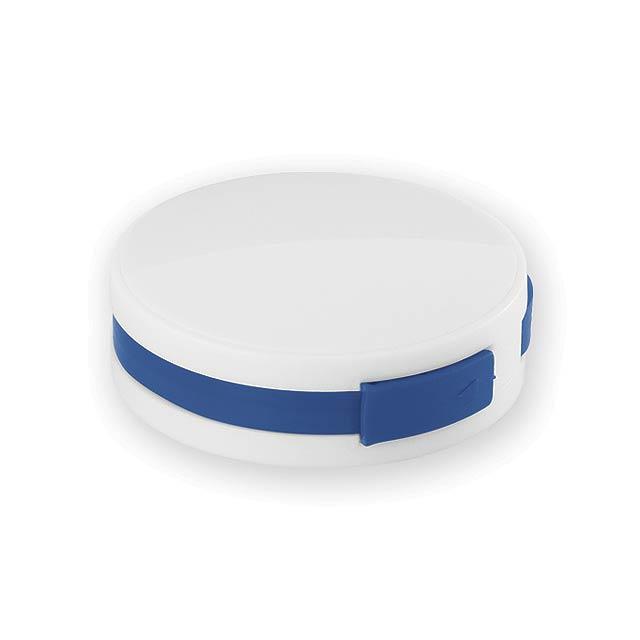 METY plastový USB rozbočovač 2.0, Modrá - modrá
