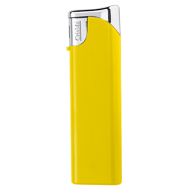 Elektronik-Feuerzeug nachfüllbar - Gelb