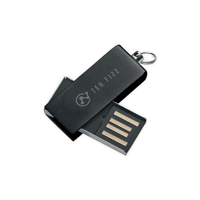 SIMON - Mini UDP flash drive, 4GB - black