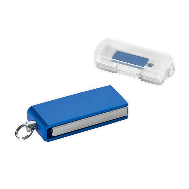 SIMON - Mini UDP flash drive, 4GB - blue