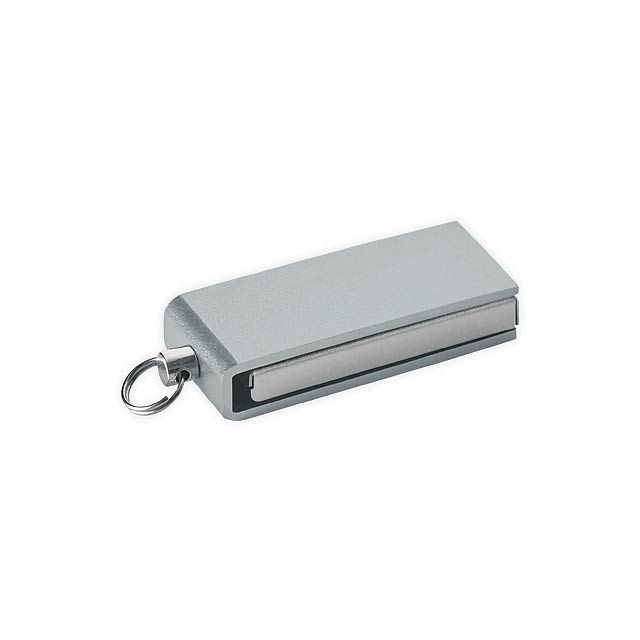 SIMON - Mini UDP flash drive, 4GB - silver