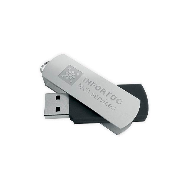 BOYLE - USB flash drive, 4GB - black