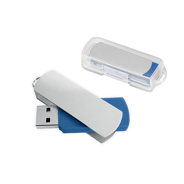 BOYLE - USB flash drive, 4GB - blue