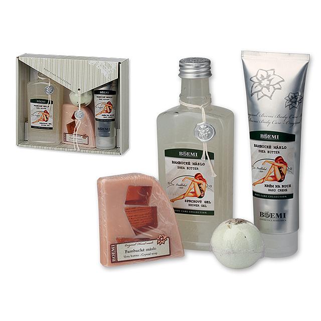 SHEA BUTTER BOX - Dárková kosmetická kazeta s bambuckým máslem ... 4d3ea5ac53