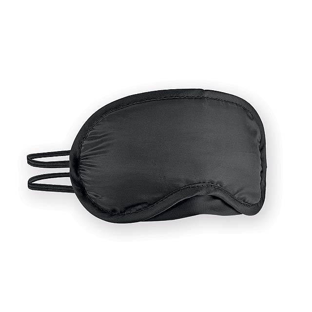 OSCURA maska na spaní, Černá - čierna