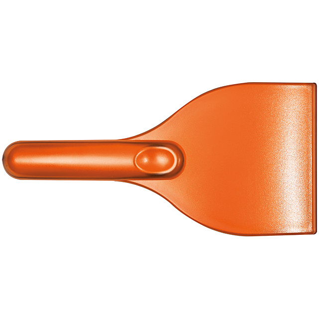 Ice scraper škrabka na led - oranžová