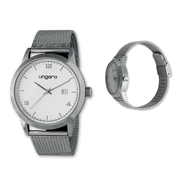 9c83114ff33 GUARDIO - Pánské hodinky s minerálním sklem