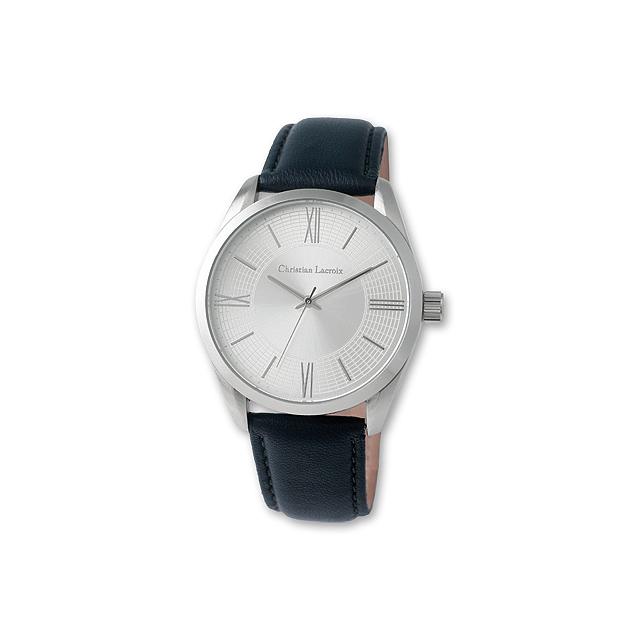 CHRISTIAN - pánské náramkové hodinky Christian Lacroix - modrá ... 50214accd98