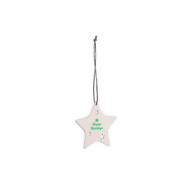 DECO STAR - Christmas decoration - white