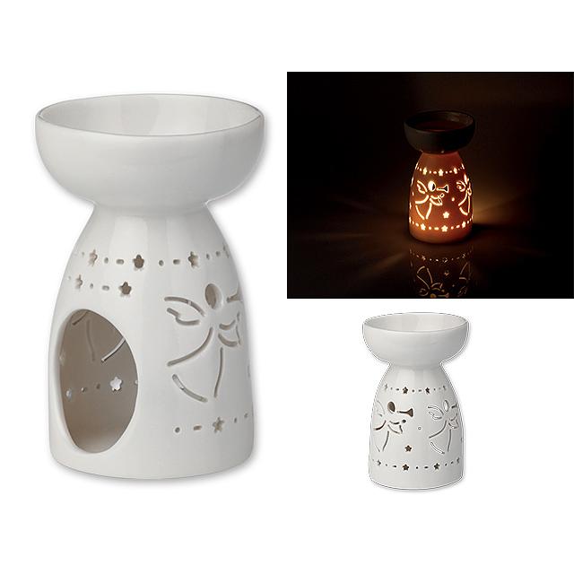 54943fc9b62 LAMPRONA - Keramická vánoční aromalampa.