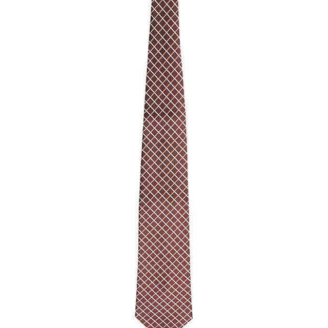 Tienamic kravata - hnědá