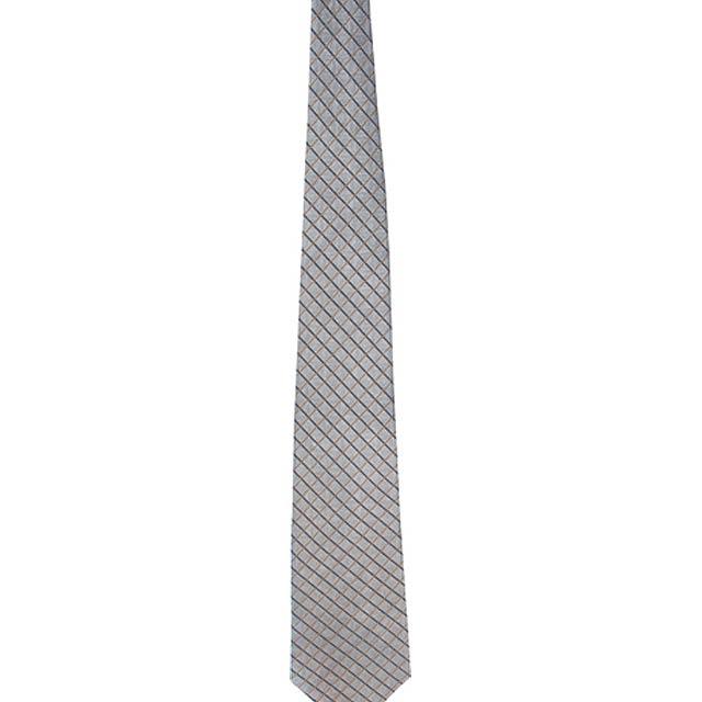 Tienamic kravata - tmavě šedá