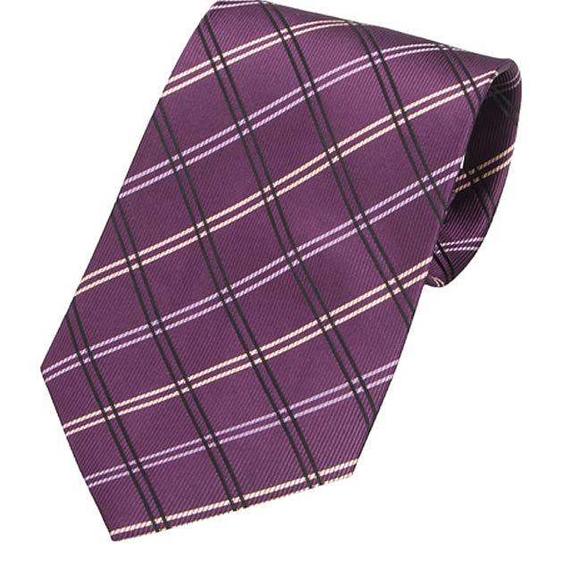Tienamic kravata - fialová
