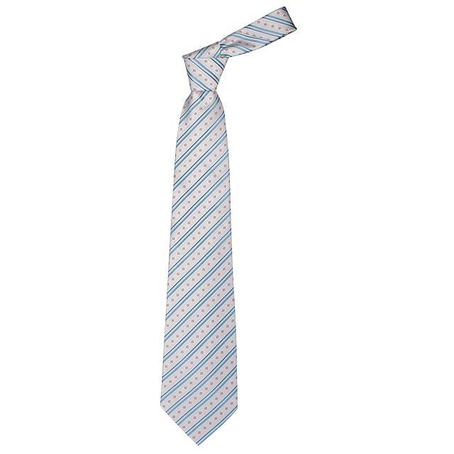 Lanes kravata - bílá