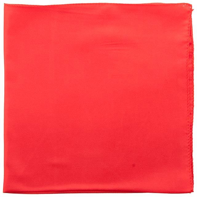 Lily dámský šátek - červená