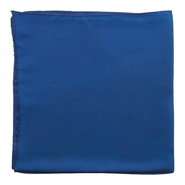 Lily dámský šátek - modrá
