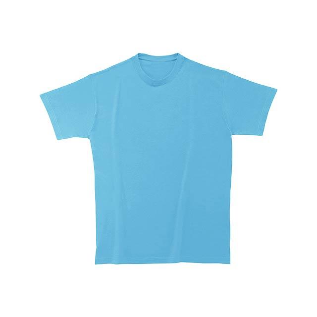 Heavy Cotton tričko - nebesky modrá