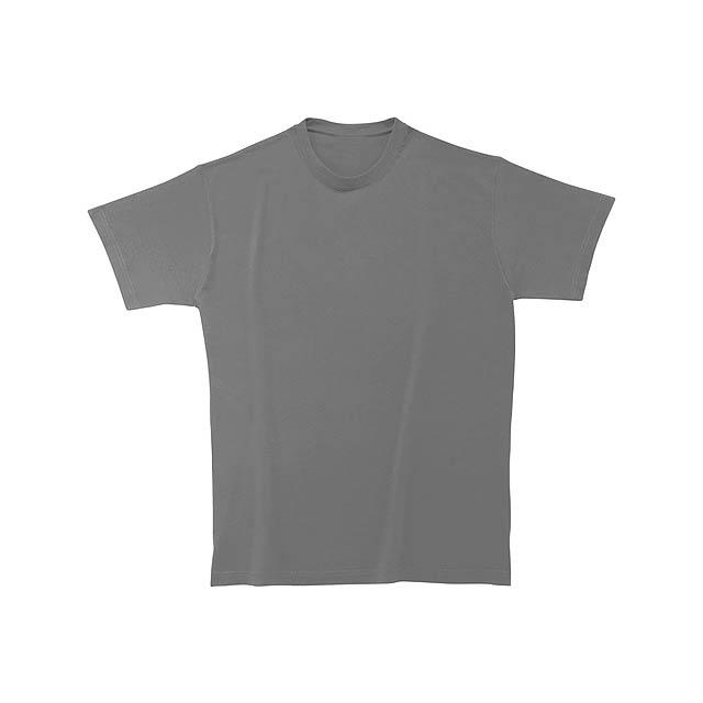 Heavy Cotton tričko - tmavě šedá
