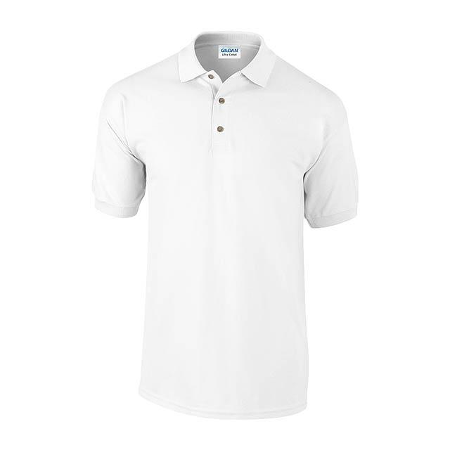 Ultra Cotton polokošile pique - bílá