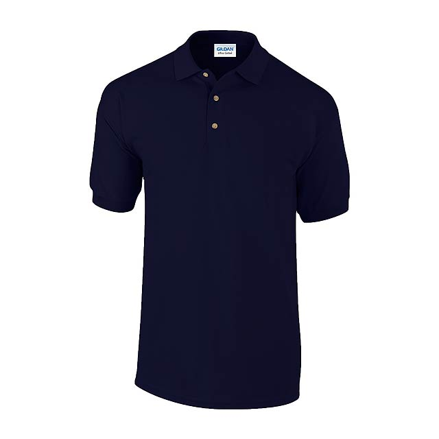 Ultra Cotton polokošile pique - modrá