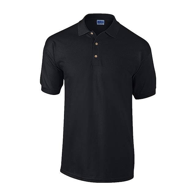 Ultra Cotton polokošile pique - černá