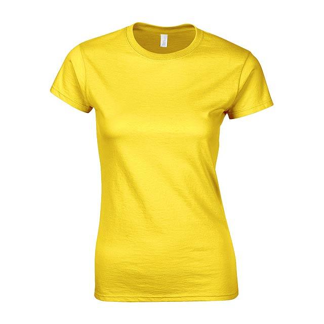 Softstyle Lady dámské tričko - žlutá