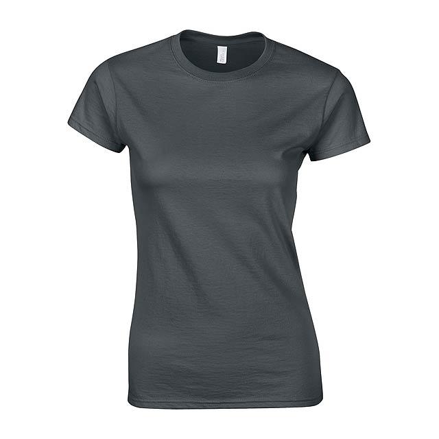 Softstyle Lady dámské tričko - tmavě šedá