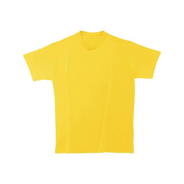 Softstyle Man tričko - žlutá