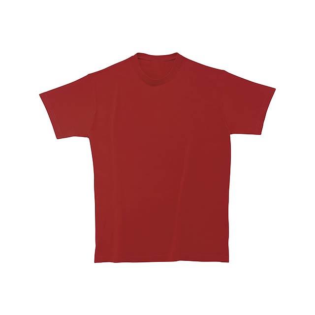 Softstyle Man tričko - vínová