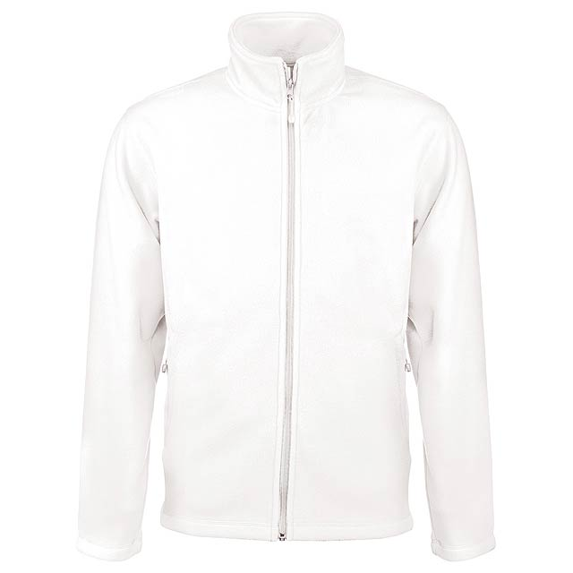 Falco fleecová bunda - bílá