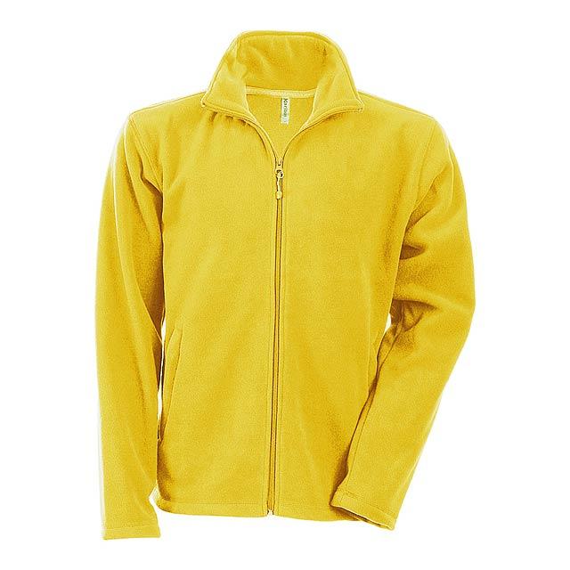 Falco fleecová bunda - žlutá