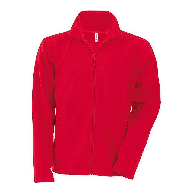 Falco fleecová bunda - červená