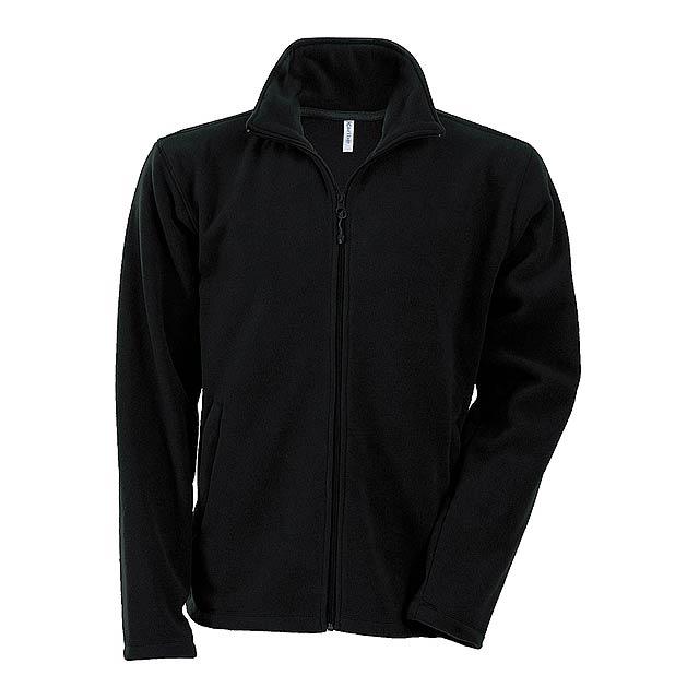 Falco fleecová bunda - černá