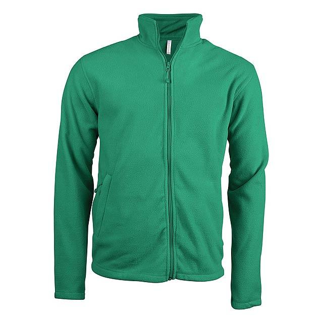 Falco fleecová bunda - zelená