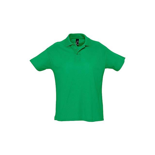 Summer II polokošile pique - zelená
