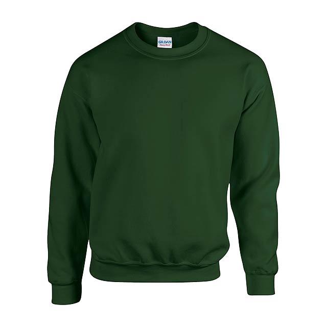 HB Crewneck mikina - zelená
