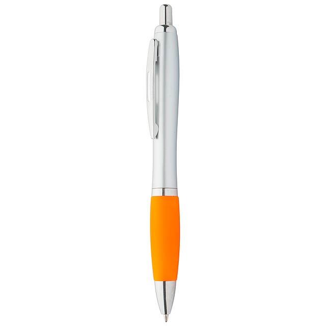 Lumpy kuličkové pero - oranžová